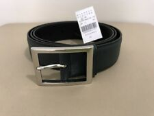 New PRADA Saffiano Leather Belt. Green. Sz. 42/105. Org. $ 380