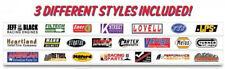 Innovative Hobby Supply 1/32 Slot Car Guard Rail Set W/ Sponsor Logos - 3pcs