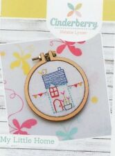 PATTERN - My Little Home - sweet embroidery mini PATTERN - Creative Card