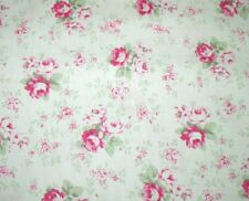 "31"" Remnant Cottage Shabby Chic Slipper Roses Washed Roses PWTW091-White"