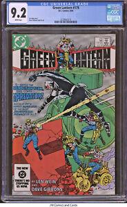 Green Lantern #179 CGC 9.2 1984 - Len Wein story, Dave Gibbons cover & art