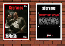1999 Topps Style Tony Soprano Custom Artist Novelty Tv Sopranos Card