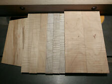 Unique Premium Lumber Pack- Fiddleback Curly Maple, Top Quality, Project Ready