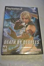 DEATH BY DEGREES (PlayStation 2) Nina Williams SEALED  BrandNEW w/Tekken 5 Demo