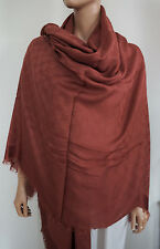 NWT Authentic GUCCI GG MONOGRAM Modal Wool Silk GIANT SCARF Shawl Pashmina