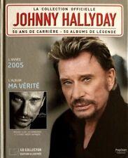 Johnny Hallyday - La Collection Officielle 2005 Ma Vérité - Livre CD