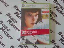 MIRROR'S EDGE 1 - MICROSOFT XBOX 360 - PAL ITA ITALIANO - COMPLETO - COME NUOVO