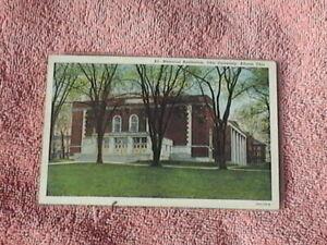 Unposted Postcard of Ohio University Memorial Auditorium. Athens Ohio.