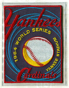 1964 WORLD SERIES Willabee Ward ST LOUIS CARDINALS / NEW YORK YANKEES PATCH ONLY