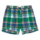 Mud Pie E9 Summer Baby Toddler Boy Marco Polo Plaid Shorts 15200025 Choose