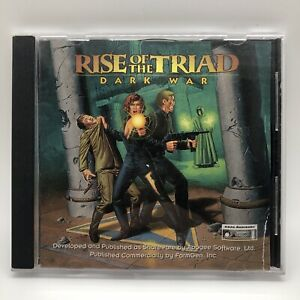 Rise of the Triad: Dark War (PC, CD-ROM)  computer video game 1994
