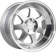 "17x9 Klutch ML7 4x100 Rims +30 Brushed Silver Wheels (Set of 4) 3"" LIP"