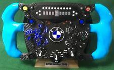 BMW Sauber F1 FULL SIZE  Replica 2009 steering wheel, display. Not Amalgam.
