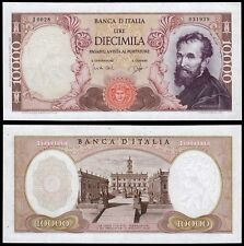 More details for italy 10000 lire (p97a) 1962 carli & ripa unc