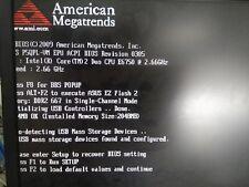 Asus Motherboard P5QPL-VM SOCKET 775 2 DDR2 IDE SATA VGA DVI HDMI 4 USB