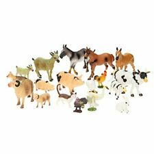 Farm Animal Toys Set Of 20 Pieces Kids toddlers playset