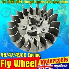 Starter Flywheel Easy Pull Start 49cc Engine ATV Quad Mini Dirt  PIT Pocket Bike