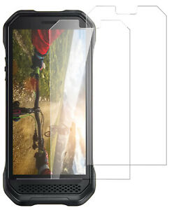 2X Tempered Glass Screen Protector Saver Guard for Kyocera DuraForce Ultra 5G UW