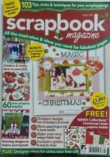 Scrapbook Magazine UK Issue 86 103 Tips Tricks & Techniques FREE SHIPPING sb