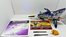 100% Complete Transformers Robots In Disguise Mega Class Sky-Byte (w Bio & Inst)