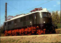 EISENBAHN Motiv Postkarte E-Lok Lokomotive Schnellzug Baureihe 218 VKM Dresden