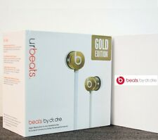 Beats by dr. dre urbeats in-ear seulement casque-se gold limited edition boxed