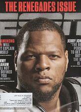 ESPN Magazine - Sept. 15, 2014 -Ndamukong SUN Cover - Lions, Graham, Jerry Jones