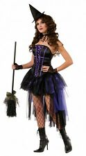 Womens Witch Costume Couture Willow Corset & Tutu Dress Women's Size M/L