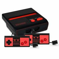 Retro-Bit RES Top Loading NES Console w/2 Pack Controllers Black/Red