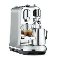 Coffee Machine Large Selection of Different Coffees & Easy Cleaning , Silver