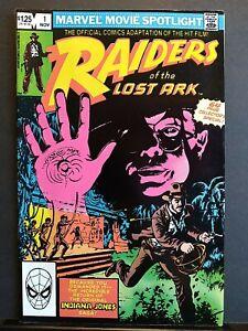 Raiders of the lost Ark #1 Indiana Jones Marvel Comics 1981🔥 New Movie VF/NM