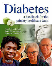 Diabetes: A Handbook for the Primary Healthcare Team, 1e by McDowell, Joan R. S