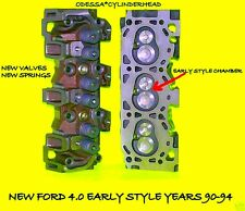 NEW PAIR FORD RANGER EXPLORER 4.0 OHV EARLY CYLINDER HEADS 90-95 5 Year Warranty