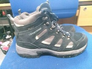 Karrimor navy & grey waterproof walking boots size 8/42