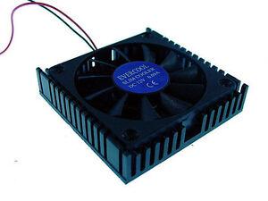 CT-5408B Super Slim 45mm x 45mm x 10mm  Aluminum CPU/Chipset Cooler