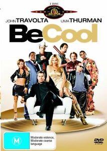 Be Cool DVD John Travolta Movie Danny Devito, Vince Vaughn (2 DISC) AUST REG 4