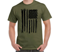 American Flag T-shirt Military USA Army Pride Patriotic Size S-6XL