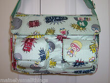 NWT Harajuku Lovers FAN  Bag * SUPER HOT HEROES * 8200CH09SH