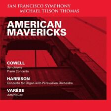enry Cowell - American Mavericks Cowell Harrison and Varese [CD]