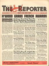MAY 1 1939 HOLLYWOOD REPORTER movie magazine UNION PACIFIC