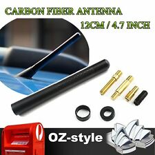 "4.7"" 12cm Carbon Fiber Roof Aerial Radio Signal Amplifer Antenna For Isuzu D-Max"