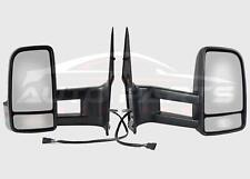 Mercedes Sprinter Wing Mirror Manual Complete Long Arm Set O/S N/S 2006 - 2018