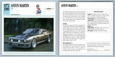 Aston Martin - V8 - 1972-89 High Performance Collectors Club Card
