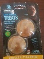 Starmark Lock & Block Dental Chew Chicken Flavor