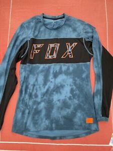 Fox Ranger Dri-Release Elevated Mens Long Sleeve Jersey Blue Steel Medium