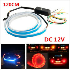 4 Colors Flow Type Flowing LED Strip Car Trunk Side Turn Signal Brake Tail Light