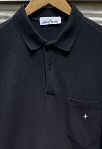 STONE ISLAND Long Sleeve Embroidered Compass Logo Shirt Oi XXL Polloi