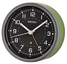Seiko Qhe096m Orologio Analogico in plastica Verde (grã¼n)