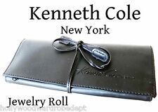 Kenneth Cole Leather Jewelry men holder travel box roll watch ring bag duffel