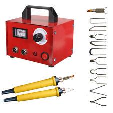220V 100W Digital Pyrography Machine Wood Burning Pen 10 Tips Set For Crafts